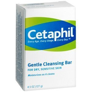Special pack of 6 CETAPHIL GENTLE CLEANSING BAR 4.5 oz by scthkidto