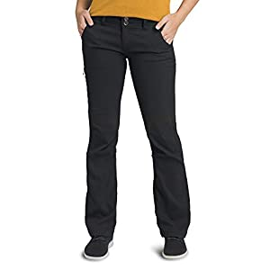 prAna – Women's Halle Roll-Up, Water-Repellent Stretch Pants for Hiking and Everyday Wear