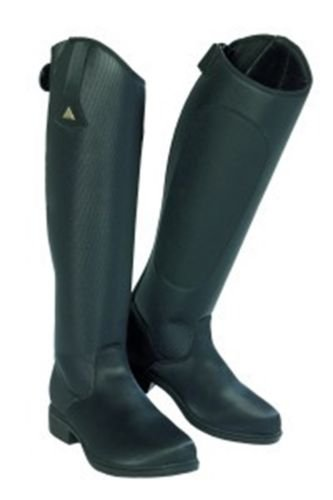 Mountain Horse Ice High Rider Boot III Tall Reg Black (High Rider Tall Boot)