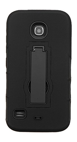 Asmyna Cell Phone Case for Huawei Y538 (Union) - Retail Packaging - Black