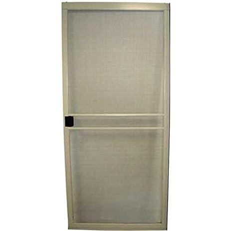 rite screen company gidds 284477 adjustable patio screen door heavy duty painted - Patio Screen Doors