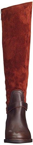Marc OPolo Flat Heel Long Boot 70814228002311, Stivaletti Alla Caviglia Donna Marrone (Brandy)