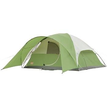 Coleman Evanston 8 Tent  sc 1 st  Amazon.com & Amazon.com : Coleman Evanston 8 Tent : Family Tents : Sports ...