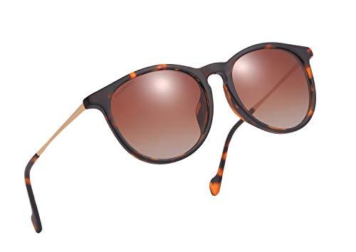 O-LET Erika Sunglasses Polarized for Women Men 100% UV Blocking & Glare-Eliminating 4171 Brown (Rb Sunglasses Online)