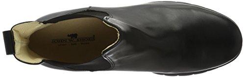 John W. Shoes Herren Sigourney Chelsea Boots Schwarz (Negro)