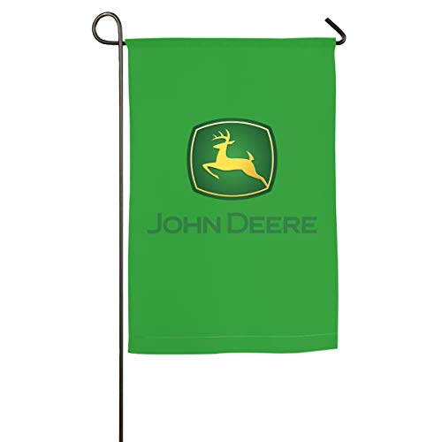 XIELIAN Single Sided Premium Garden Flag, John Deere Decor Garden Flags - 18 X 12 Inch/18 X 27 Inch Best for Party Yard and Home Outdoor