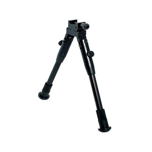 UTG New Gen High-pro Shooters Bipod, Rubber Feet, 8.7