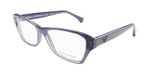 Emporio Armani EA3032 Eyeglasses-5225 Transparent Lilac On - & Co Emporio