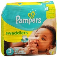 Pampers Swaddlers Diapers Size 3 Jumbo Pack Pack of 2