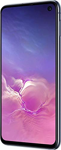 "Samsung Galaxy S10e (128GB, 6GB) 5.8"" AMOLED, Snapdragon 855, IP68 Water Resistant, Global 4G LTE GSM AT&T Unlocked (T-Mobile, Verizon, Sprint, Metro) SM-G970U (Prism Black) (Renewed)"