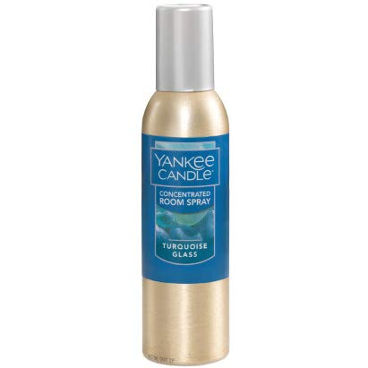 - Yankee Candle Turquoise Glass Concentrated Room Spray 1.5 Ounce