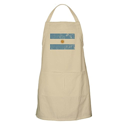 CafePress - Vintage Argentina BBQ Apron - Kitchen Apron with Pockets, Grilling Apron, Baking Apron