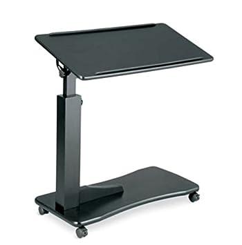 Adjustable Bedside Table - Black
