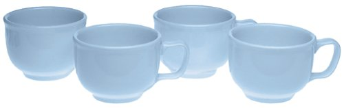 Fiesta Periwinkle 149 18-Ounce Jumbo Cups, Set of 4