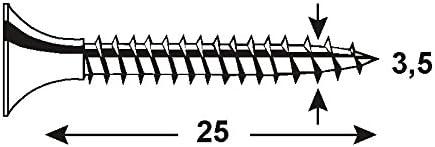 CONNEX KL3163525 3.5 x 25mm Dry Wall Screws with Fine Thread