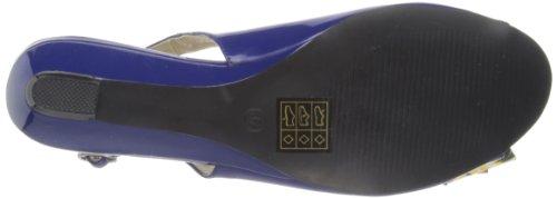 Lunar FLC551 - Sandalias fashion de sintético mujer azul - azul