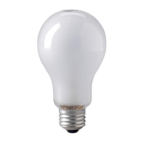 EIKO 500W, PS25 Incandescent Light Bulb (Light Incandescent Eiko White Bulb)