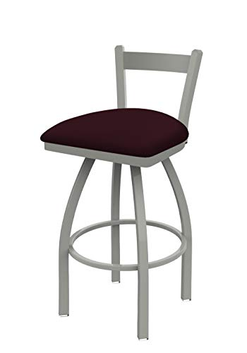 Holland Bar Stool Co. 82130AN005 821 Catalina Low Back Swivel Bar Stool, Canter - Trica Stool Leather Bar