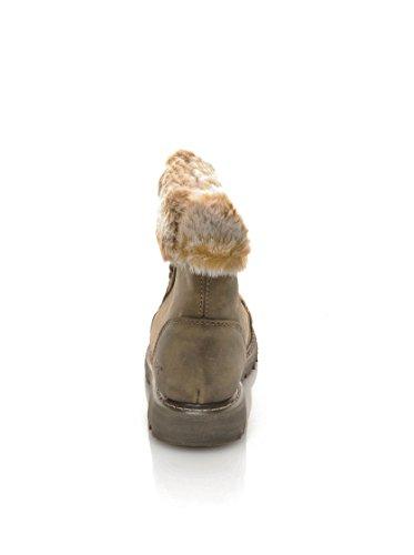 Damen Boots Beaned Slouch Duelist Caterpillar Schuhe CAT REWOw