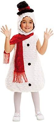 My Other Me Me-202420 Disfraz muñeco de nieve de peluche, 1-2 años ...