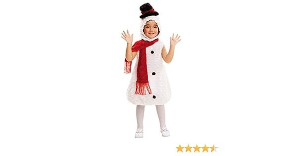 My Other Me Me-202421 Disfraz muñeco de nieve de peluche, 3-4 años ...