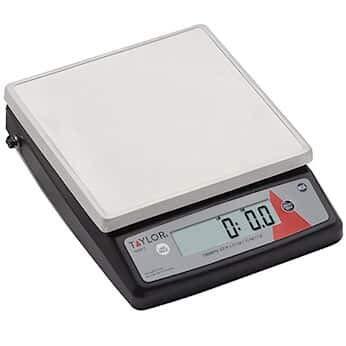(Taylor TE22FT Precision Digital Portion Control Scale, 22 lb x .1 oz)