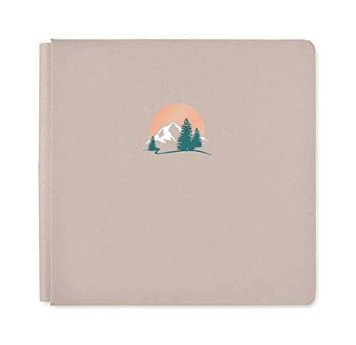 12x12 Clay Great Escape Mountain Album Scrapbook Cover True Size by Creative Memories Creative Memories 12x12 Scrapbook