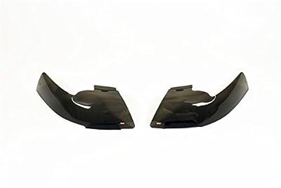 Wade 72-36264 Smoke Tint Light Guard Headlight Cover - Pair