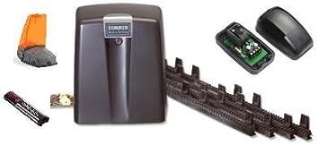 Sommer Motor para puerta corredera GATOR 800 N 500 kg 1emetteur Sommer KITGATOR800CRE receptor: Amazon.es: Bricolaje y herramientas