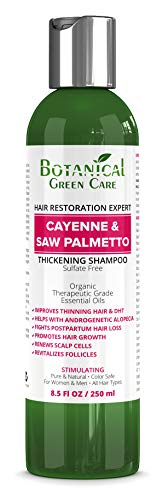 Hair Growth/Anti-Hair Loss Premium OrganicSulfate-Free Shampoo