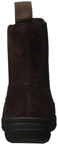 Fitflop Ff-lux Chelsea Boot - Zapatillas Mujer Marrone (Dark Brown)