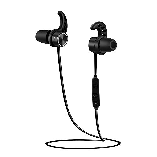 Bluetooth Headsets – Bluetooth Headphones – Wireless Earphones for Exercise- Magnetic Earbuds Super Bass Stereo Noise Cancelling Earphones, Comfortable, Microphone Hands Free in Ear Sport Sweatproof