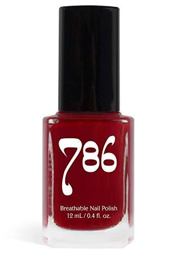 786 Cosmetics Breathable Nail Polish - Vegan Nail Polish, Cruelty-Free, Healthy, Halal Nail Polish, Fast-Drying Nail Polish (Agra)