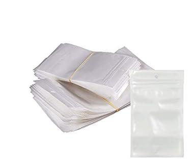 Amazon.com: Bolsa de plástico con cierre autoadhesivo de ...