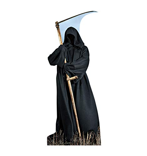 Advanced Graphics Grim Reaper Life Size Cardboard Cutout Standup ()