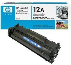 Genuine OEM brand name HP Black Toner Cartridge for LASERJET 1012 (2K Yield) Q2612A