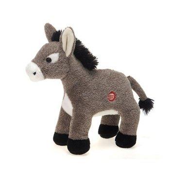 Donkey Coat - Fiesta Toys Dominic the Donkey with Sound Plush Stuffed Animal Toy - 6 Inches