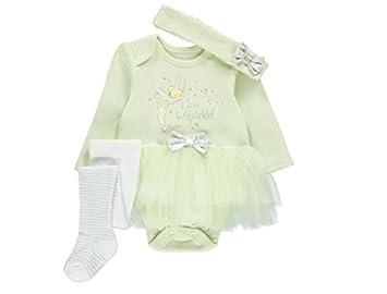 George Officially Licensed Disney Tinkerbell Baby Fancy Dress Onesie