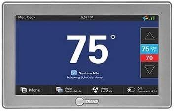 Trane Tzon1050ac52za Comfortlink Ii Xl1050 Wi Fi Thermostat Amazon Com