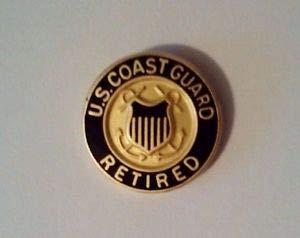 U.S.Coast Guard Retired Hat Pin by HighQ Store ()