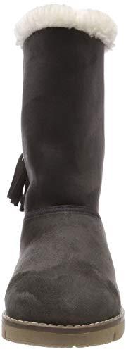 Tom 00013 coal Tailor Femme Gris amp; Bottines 5893101 Bottes Souples rUrzOTxn
