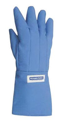 National Safety Apparel G99CRBEMAMDR Size 9 Olefin And Polyester Lined Nylon Taslan And PTFE Mid-Arm Length Water Resistant Cryogen Gloves (1/PR)