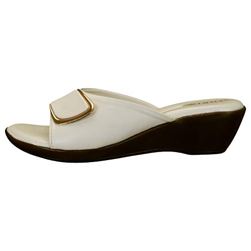 31CK%2BqZaCZL. SS500  - 1 WALK Comfortable Women-Flats/Fashion Slippers/Casual Footwear/Party slippers/MP-E101(A,B,C,D,E,)-$P