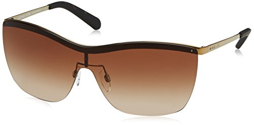 Michael Kors PAPHOS MK5005 Sunglasses 100413-39 - Gold Frame, Brown Gradient - Michael Sun Kors
