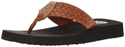- Yellow Box Women's Flax Wedge Sandal, Tan, 8.5 M US