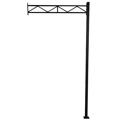 Titan T-3 12' Wall Mount Rig Upright w/ 70'' Crossbrace by Titan Fitness