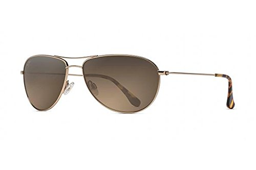 Maui Jim Sunglasses Gold Shiny/Bronze Titanium - Polarized - 60mm