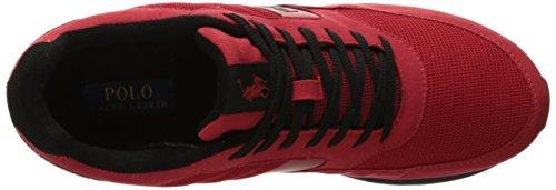 Polo Ralph Lauren Mens Laxman Sneaker Rosso