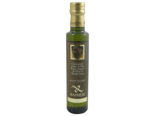 Ranieri - Flavoured Extra Virgin Olive Oil Black Truffle - 250ml by Belgravia Imports, Inc.