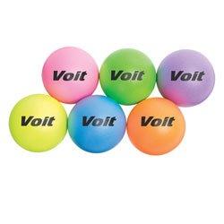Voit Tuff Softi 6.25'' Neons Set of 6 by Voit